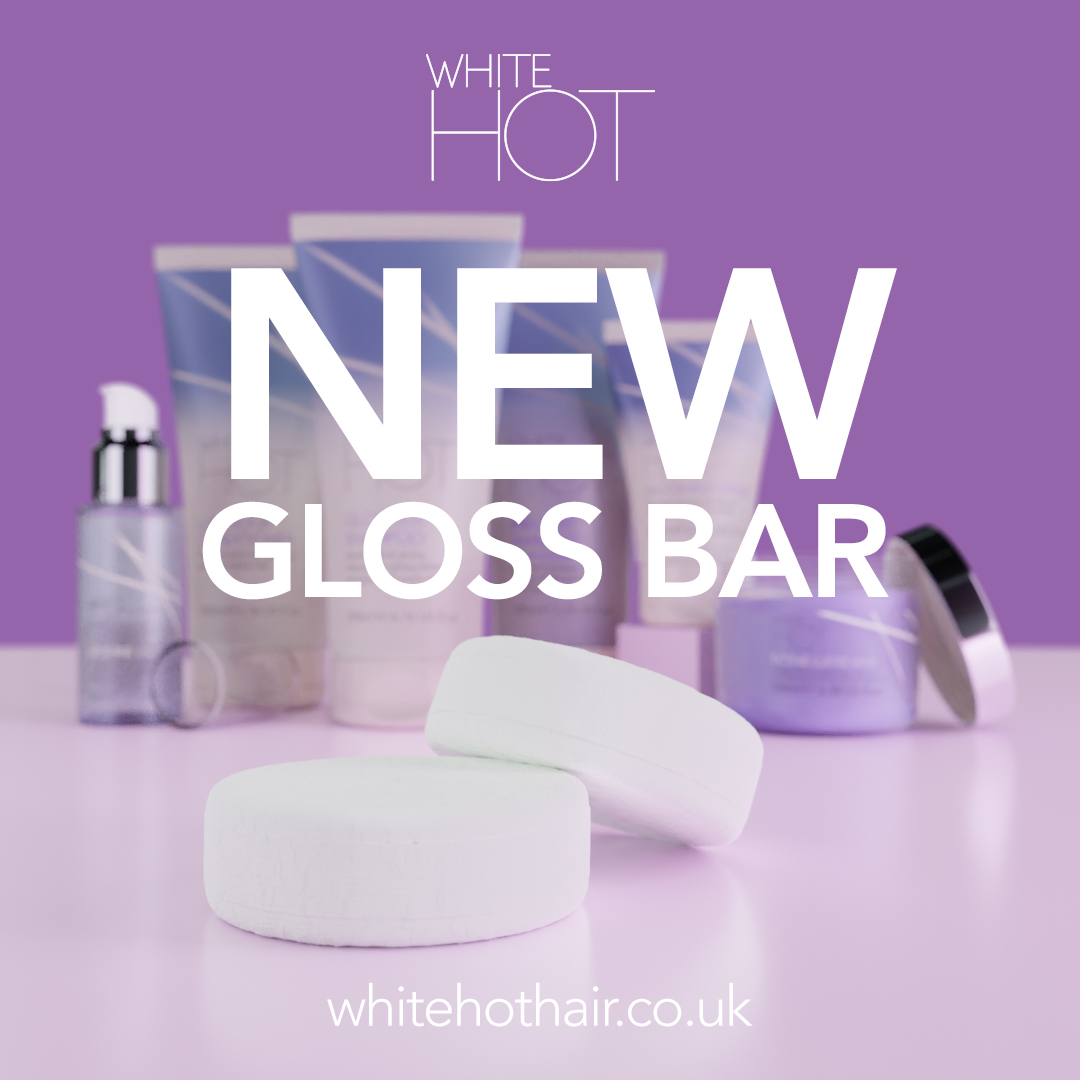 Say hello to our BRAND NEW solid shampoo GLOSS BAR!