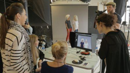 Behind the Scenes on our latest shoot