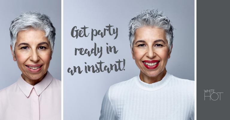 Six ways to shine at the party this season