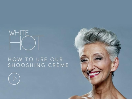 How to use White Hot Shooshing Crème
