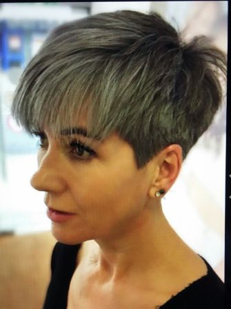 """How to have a great grey hair day every day"""